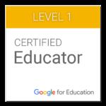 Dit certificaat behaalde ik bij Google